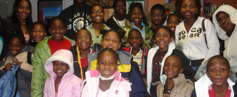 Coat Drive at Carter G. Woodson Elementary