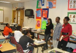 Seminar at Jean Childs Young Middle School
